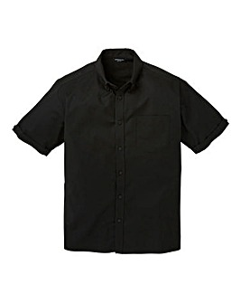 Capsule S/S Black Oxford Shirt Regular