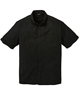 Capsule S/S Black Oxford Shirt Long
