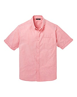Capsule S/S Pink Oxford Shirt Regular