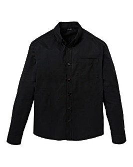 Capsule L/S Black Oxford Shirt Regular