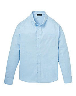 Capsule Blue L/S Oxford Shirt Long