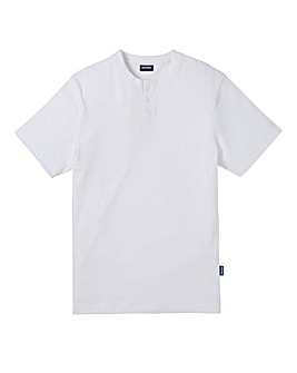 Southbay Unisex White Grandad Shirt