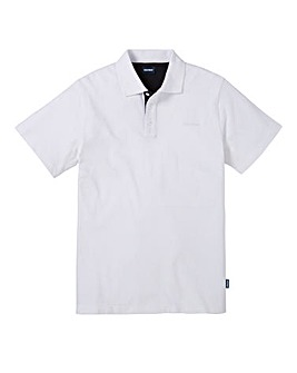 Southbay Unisex White S/S Polo Shirt