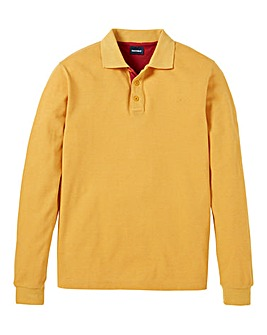 Southbay Unisex L/S Gold Pique Polo