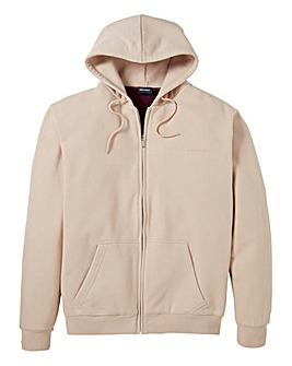 Southbay Unisex Cream Zip Hooded Sweat