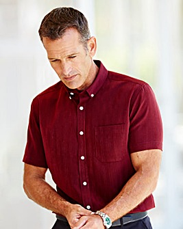 Premier Man Soft Touch Burgundy Shirt