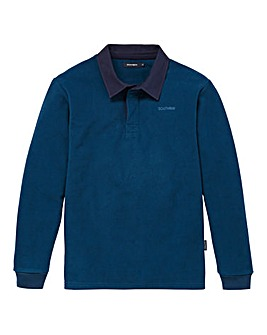 Southbay Unisex Teal Fleece Rugby Shirt