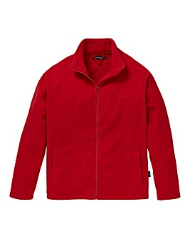 Southbay Unisex Red Zip Through Fleece