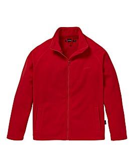 Southbay Unisex Red Zip Through Fleece