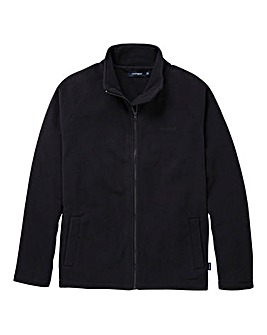 Southbay Unisex Black Zip Through Fleece