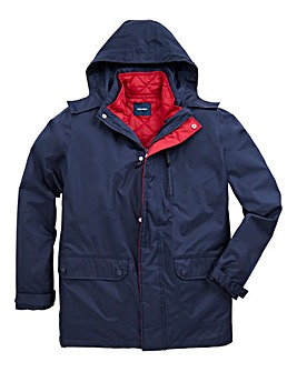 Southbay Unisex Navy 3 in 1 Jacket