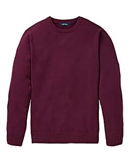 Southbay Unisex Plum Crew Neck Sweater