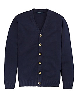 Southbay Unisex Navy Button Cardigan