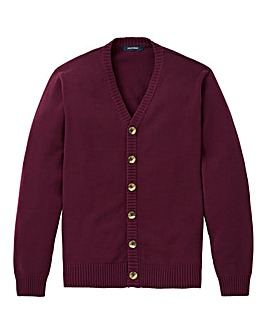 Southbay Unisex Plum Button Cardigan