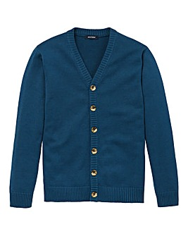 Southbay Unisex Teal Button Cardigan