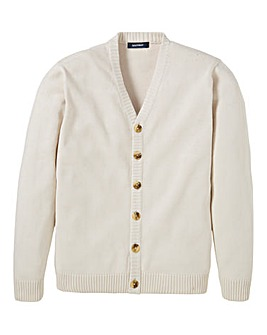 Southbay Unisex Cream Button Cardigan