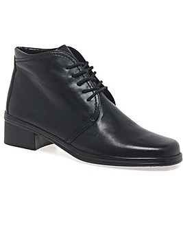 Gabor Elaine Womens Lace-Up Ankle Boots