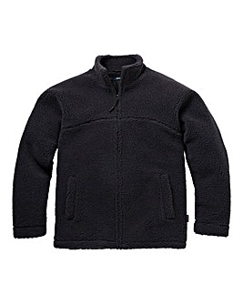 Southbay Unisex Charcoal Sherpa Jacket