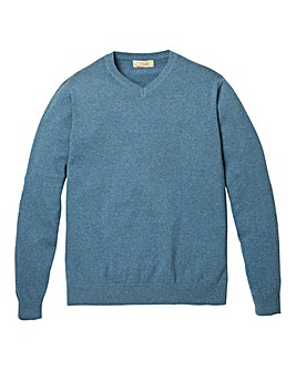 WILLIAMS & BROWN V Neck Jumper