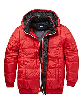 Southbay Unisex Red Padded Jacket