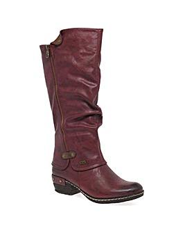Rieker Sierra Womens Long Boots
