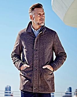 WILLIAMS & BROWN Wool Mix Overcoat