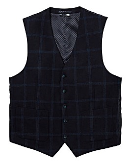 WILLIAMS & BROWN Mighty Check Waistcoat