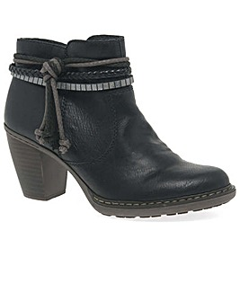 Rieker Rope Womens Casual Ankle Boots