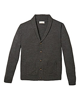 WILLIAMS & BROWN Shawl Collar Cardigan