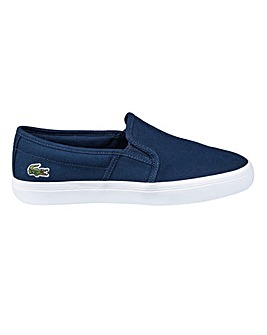 Lacoste Gazon Slip On Trainers