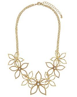 Accessorize Flower Statement Earrings