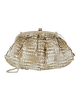 Accessorize Tina Sequin Clutch Bag