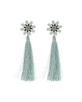 Accessorize Statement Flower Earrings