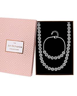 Jon Richard Floral Jewellery Set
