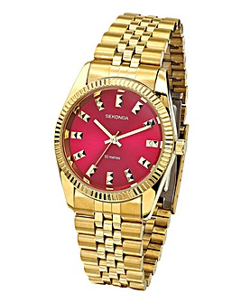 Sekonda Ladies Gold Coloured Watch