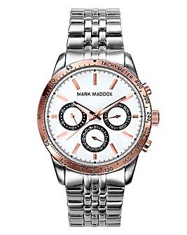 Mark Maddox Gents Two Tone Watch