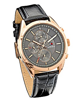 Tommy Hilfiger Gents Rose Coloured Watch