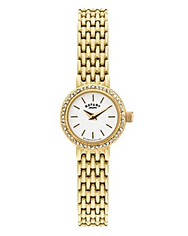 Rotary Ladies Goldtone Bracelet Watch