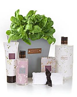 Plant Pot Bath Gift Set