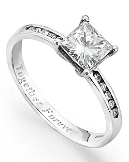 Moissanite Personalised Dress Ring