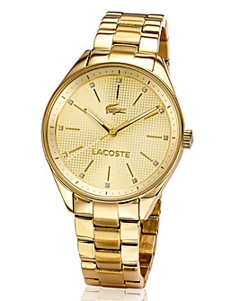 Lacoste Ladies Gold-tone Bracelet Watch