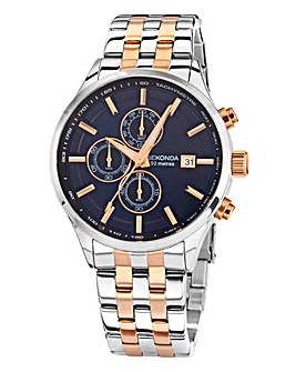 Sekonda Gents Two-tone Bracelet Watch