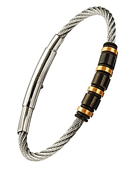 Gents Stainless Steel Wire Bracelet