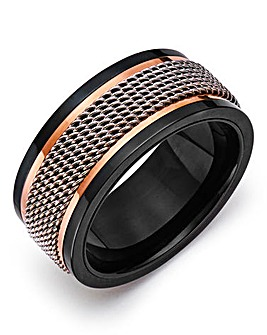 Gents Stainless Steel Ring