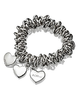 Fiorelli Stretch Triple Heart Bracelet