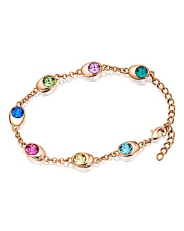 Spangles Multicolour Crystal Bracelet