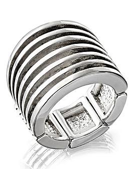 Layered Stretch Ring