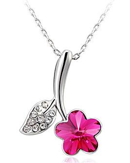 Spangles Crystal Flower Pendant