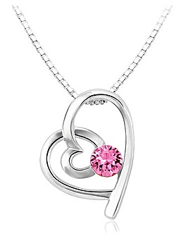 Spangles Crystal Heart Pendant