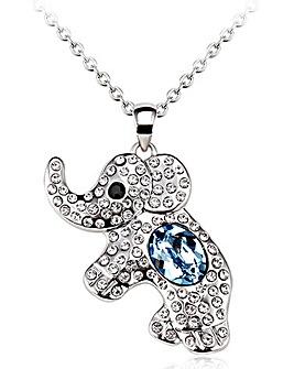 Spangles Crystal Elephant Pendant